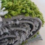 Hoogpolig vloerkleed Atlanta Shaggy Groen 381