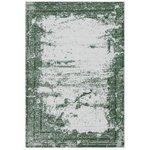 Wasbaar vloerkleed Bahama groen 6912