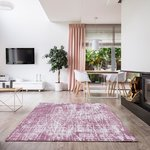 Wasbaar vloerkleed Bahama roze 6922
