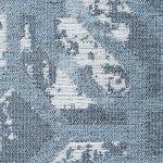 Wasbaar vloerkleed Bahama blauw 6931