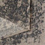 Wasbaar vloerkleed Bahama grijs 6940