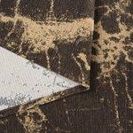 Wasbaar vloerkleed Bahama bruin 6953