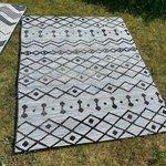 Outdoor Plus vloerkleed Zwart 3420