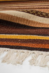 Vloerkleed Kelim 791 Bruin
