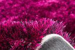 Hoogpolig vloerkleed violet Diadeem