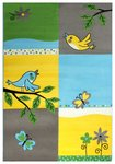 Karpet voor de kinderkamer Adi 2103 Multicolor