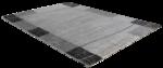 Modern vloerkleed Effect 7435 grijs