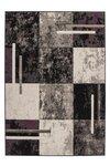Modern vloerkleed Rols kleur grijs