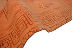 Patchwork vloerkleed Lira Multicolor oranje