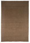 Taupe wol vloerkleed Tosca kleur taupe