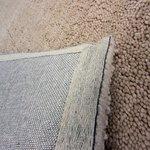 Handgemaakt wollen vloerkleed Salsa kleur naturel