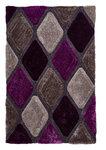 Bolcom vloerkleed kleur grijs purple NH9247