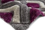 Bolcom vloerkleed kleur grijs purple NH8199