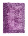 Effen vloerkleed Comfort purple 2