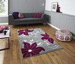 Kleden Victoria kleur grijs purple OC15