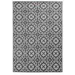 Sisal look vloerkleed Floriade Anzio kleur grijs