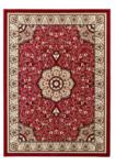 Vloerkleed Praxim kleur rood 4400