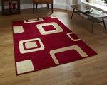 Vloerkleed Praxim kleur rood 2751