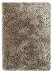 Hoogpolig vloerkleed Montblanc kleur mink