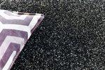 Effen vloerkleed Soraja kleur antraciet 040
