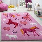 Kinderkamer vloerkleed Kelly 487 kleur 55 Pink