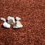 Modern vloerkleed Merli 852 kleur Oranje 210
