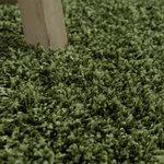 Hoogpolig vloerkleed Dorin 965 kleur Groen