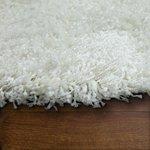 Hoogpolig vloerkleed Dorin 963 kleur Wit