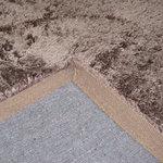 Hoogpolige vloerkleden Queen 060 Bruin