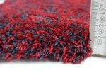 Hoogpolig tapijt Living 160/011 kleur Rood gemeleerd