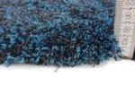 Hoogpolig tapijt Living 160/021 kleur Blauw gemeleerd