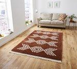 Vloerkleed Cottage 8886 kleur Terra