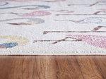 Kinder vloerkleden en tapijten Bisa Kids 4612 Creme
