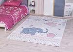 Kinder vloerkleden en tapijten Bisa Kids 4611 Creme