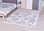 Kinder vloerkleden en tapijten Bisa Kids 4602 Creme