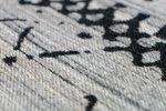 Vlakgeweven vloerkleed Toendra Grijs Multi