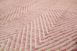 Katoen vloerkleed Retif pink