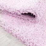 Roze vloerkleed Adriana Shaggy  1500/AY
