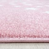 Kindervloerkleed Sunny Pink 870_