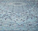 Tabriz vloerkleed  L. Blauw_