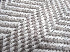 Geweven vloerkleden en karpetten Taunus taupe