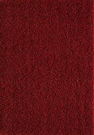 Rood hoogpolig vloerkleed of karpet Seram 1300