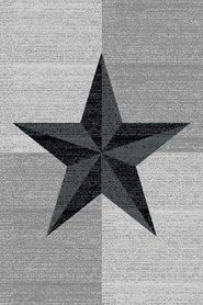 Modern vloerkleed Galant 8002 kleur Zwart