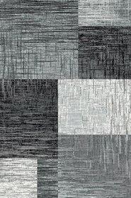 Modern vloerkleed Galant 8001 kleur Zwart