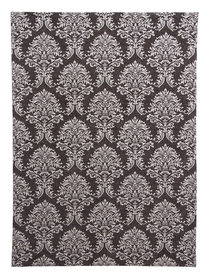 Vintage vloerkleed Sitan 900 kleur Grijs