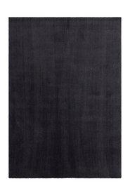 Kortpolig effen vloerkleed Valloto 400 kleur Antraciet