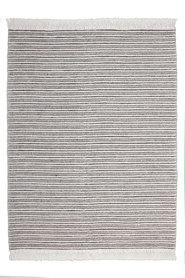 Handgeweven vloerkleed Naturel 100 kleur Grijs