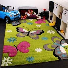 Kinderkamer vloerkleed Kelly 772 Groen 40