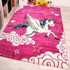 Kinder vloerkleed Kelly 640 Pink 17