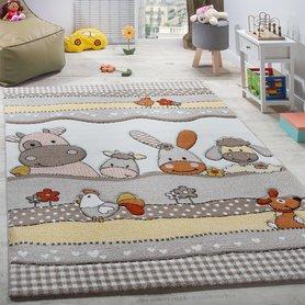Kinderkamer vloerkleed Kelly 484 kleur 70 Beige